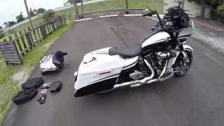 9. 2012 CVO ROAD GLIDE CUSTOM (SKUNK), FLTRXSE, LOADED! FOR SALE (EBAY JAKE)
