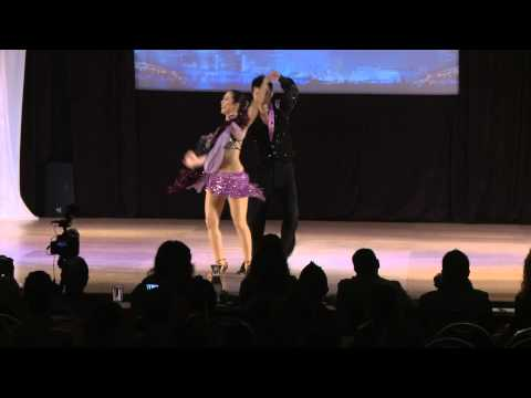 Keiji Watanabe & Ryoko Watanabe - Japan - World Latin Dance Cup 2012 Salsa Amateurs couple SemiFin (видео)