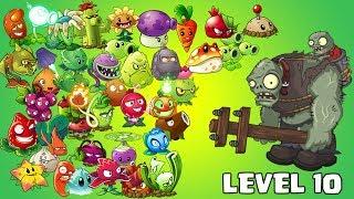 Plants Vs Zombies 2 Cada Planta Mas Fuerte Con Nutriente Nivel 1 Vs Zombistein Nivel 10 El Zombistein, el segundo zombie mas fuerte, difícil de vencer ...
