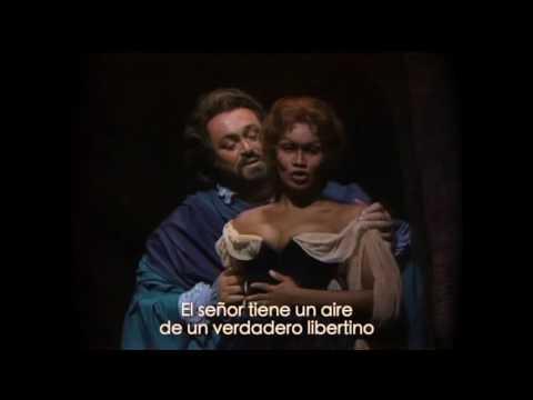 Rigoletto - Cuarteto. Pavarotti, Sutherland subtitulado ESPAÑOL