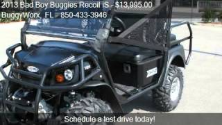 3. 2013 Bad Boy Buggies Recoil iS 4 Pass - for sale in Pensacol