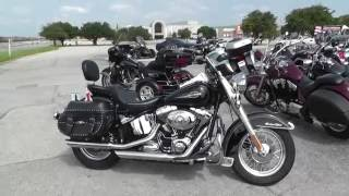 9. 081872 - 2008 Harley Davidson Heritage Softail Classic FLSTC - Used Motorcycle For Sale