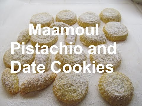 How to make Easy Maamoul / Pistachio and dates Cookies / Recipe#186 (видео)