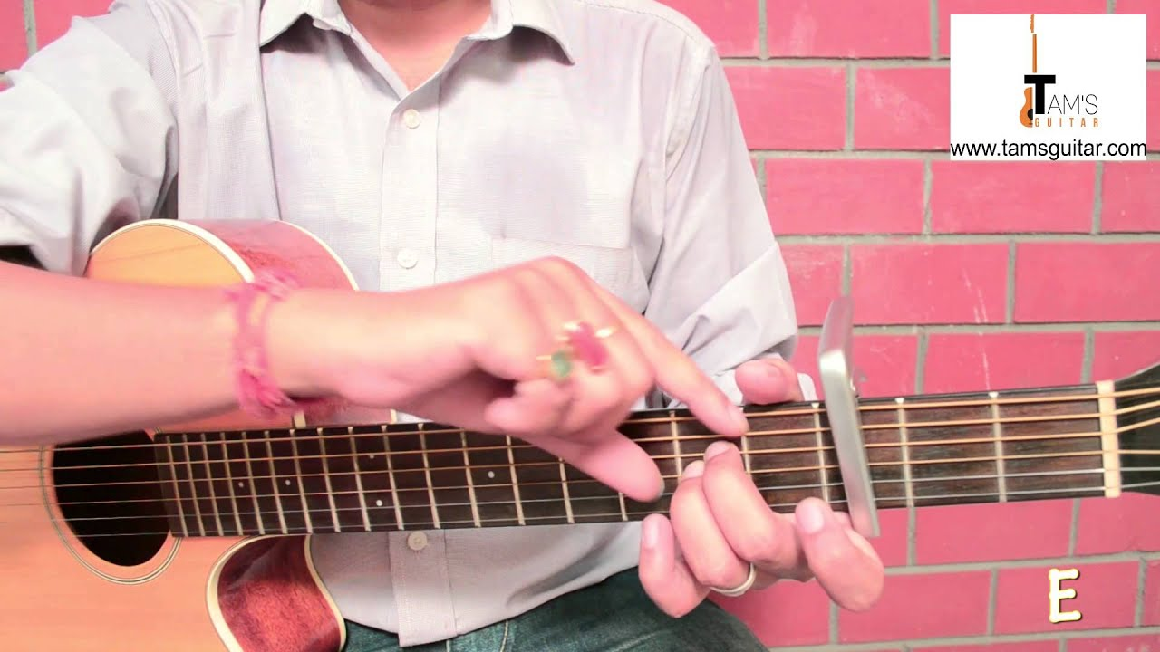 3 chords hindi song  guitar lesson for absolute beginners-Give me some sunshine-Easy
