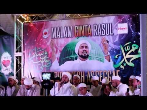 Video MALAM CINTA RASUL : sholatun bissalamil mubin (habib syech assegaf) download in MP3, 3GP, MP4, WEBM, AVI, FLV January 2017