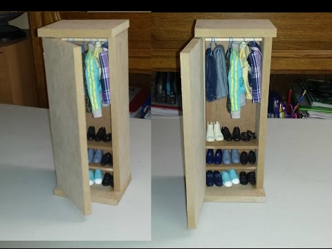 How to make a Doll Closet