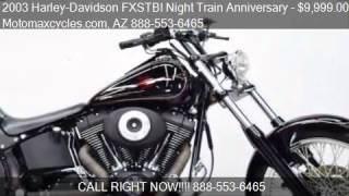 6. 2003 Harley-Davidson FXSTBI Night Train Anniversary for sale