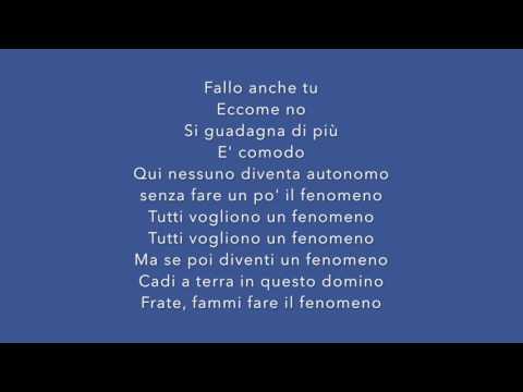 , title : 'FENOMENO - Fabri Fibra [TESTO]'