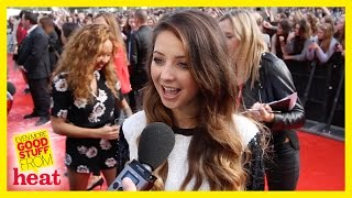 Zoella talks about her future..and Harry Styles - Teen Awards 2014
