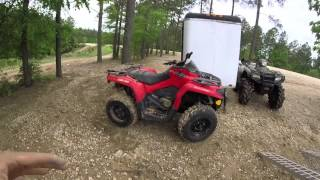 10. can am 570 review first 100 miles compared to honda rubicon