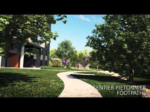 Extérieur du plan du site immobilier