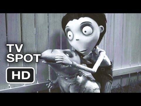 Frankenweenie TV Spot - Tale of Victor and Sparky (2012) - Tim Burton Animated Movie HD