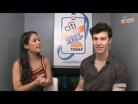 Shawn Mendes Interview at the TODAY Show in NY