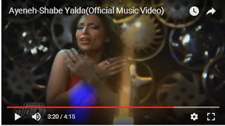 Shabeh Yalda Music Video Ayeneh