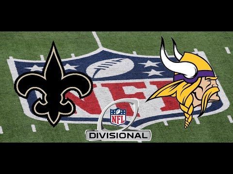 NFC Divisional Playoffs: New Orleans Saints vs Minnesota Vikings
