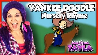 Yankee Doodle, Nursery Rhymes with lyrics