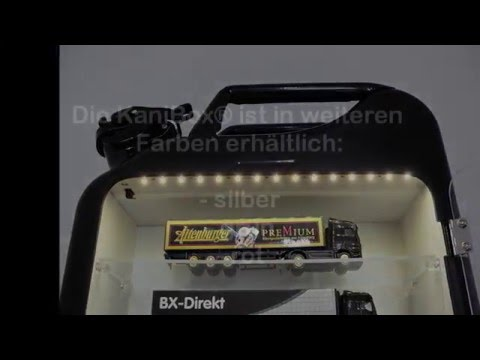KaniBox Vitrine Beleuchtung Automodelle beleuchtet Modellauto Modelltruck Modelle