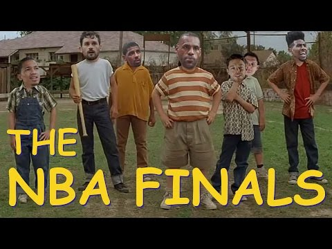 Warriors and Cavs Face Off Sandlot Style