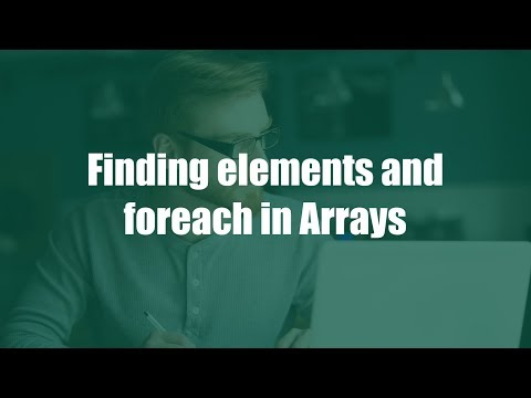 Javascript: Learn Finding Elements And Foreach In Array | Part 7 | Eduonix