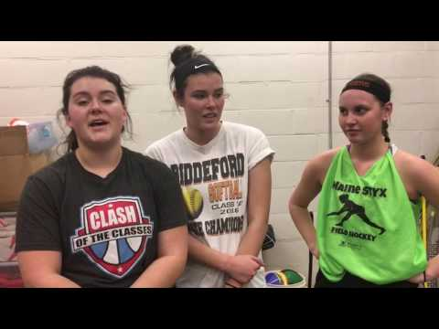 Biddeford's Magnant, Davis and Chase on 2017 Tigers (видео)
