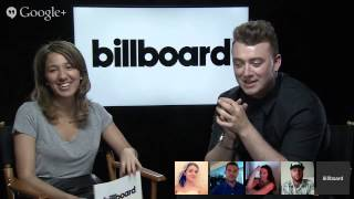 Billboard's Sam Smith Google+ Hangout On Air