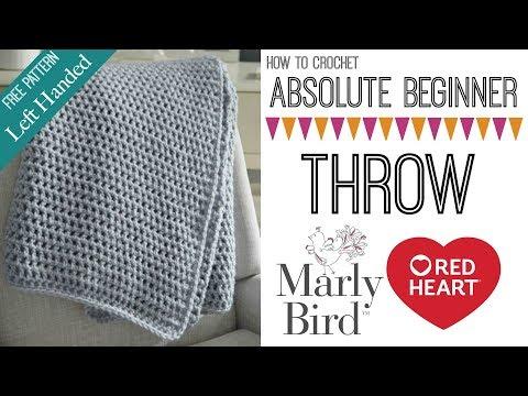 Classic Single Crochet Scarf Super Easy For Left Handed Hasanwap