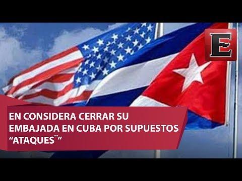 """EU analiza cerrar embajada en Cuba por """"misteriosos"""" ataques"""