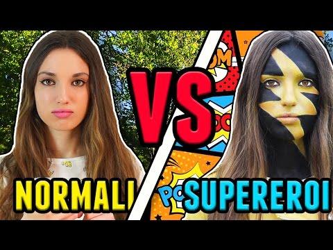 PERSONE NORMALI VS SUPEREROI видео