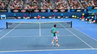 Best Game Ever with Andy Murray took on Michael Llodra by Australian TV