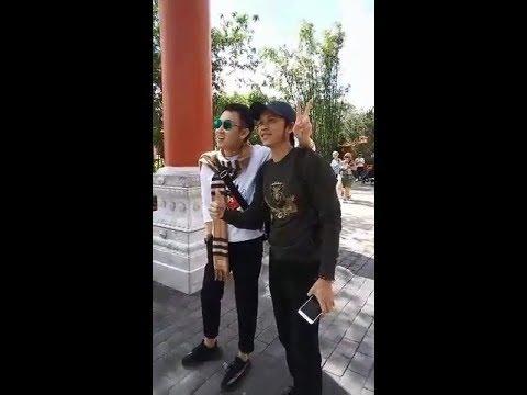 Hoài Linh, Dương Triệu Vũ cùng gia đình đi chơi Disney World - Thời lượng: 10 phút.