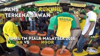 Insiden Penyokong Kedah Terkena Sawan Dalam Stadium - Final Piala Malaysia 2016 : KEDAH vs SELANGOR