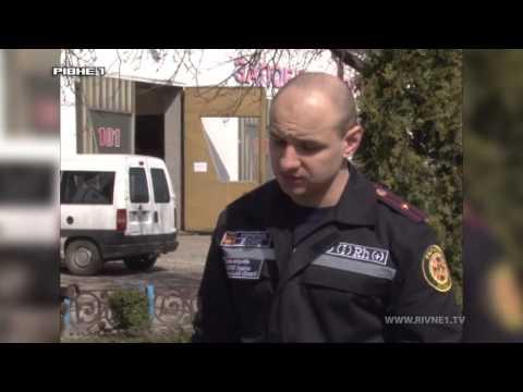 У Володимирці через пожежу міг статися вибух [ВІДЕО]