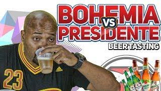 Presidente vs Bohemia. ¿Sabe el Dominicano cual es cual? – Beer Tasting