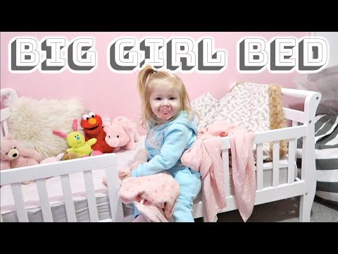 Getting A Big Girl Bed!