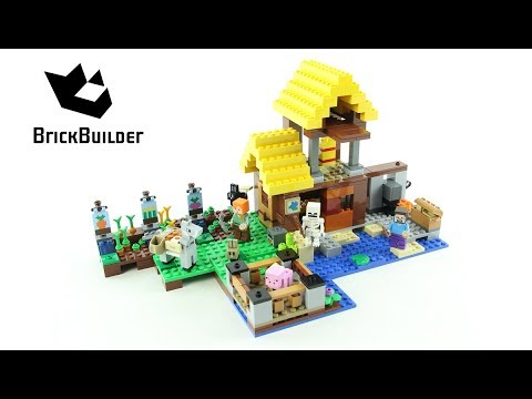 LEGO - 21144 - MINECRAFT - LA FERME