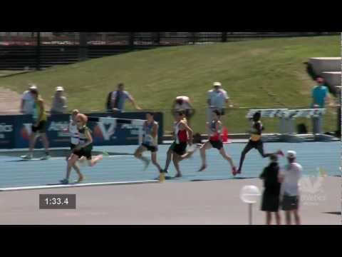 2013 Vic Champs. Men 800m Final