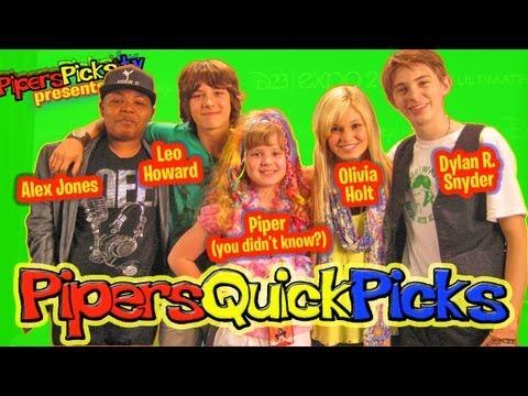 PQP 104: Leo Howard, Olivia Holt, Dylan R. Snyder & Alex Jones from Disney's Kickin' It!