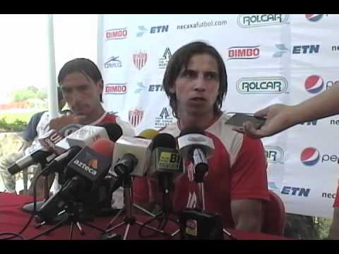 Rueda de prensa de Paulo César Chávez