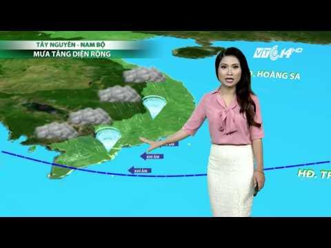 (VTC14)_Thời tiết 6h ngày 11.05.2017