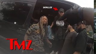 Video Ty Dolla $ign Drug Bust Video Shows Skrillex Was There Too   TMZ MP3, 3GP, MP4, WEBM, AVI, FLV Desember 2018