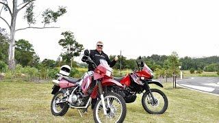 6. 2017 KLR 650 VS 2006 KLR 650 Test Ride
