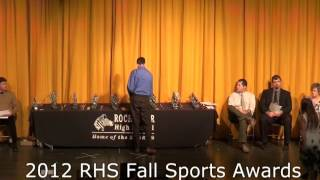 2012 Rochester High School Fall Sports Awards