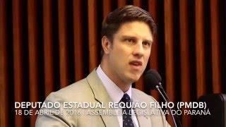Requião Filho lamenta o fechamento do Centro de Tratamento de Queimados