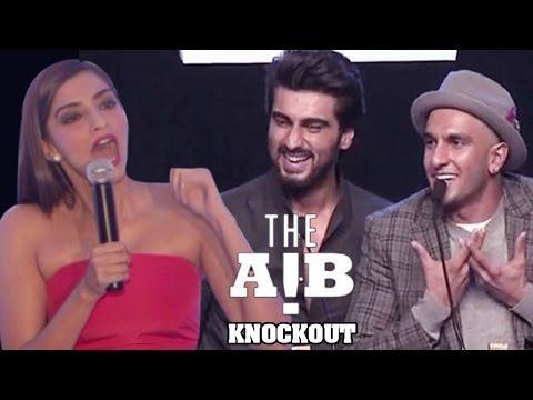 Sonam Kapoor REACTS on Arjun Kapoor's AIB Knockout