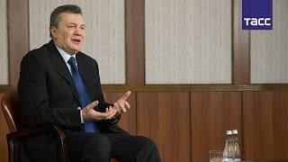 """Виктор Янукович призвал создать комиссию Совета Европы для расследования преступлений """"майдана"""""""