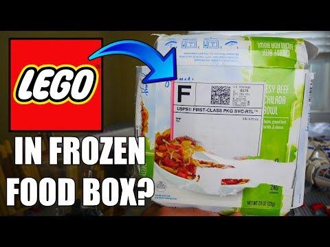 I GOT LEGO IN A FROZEN FOOD BOX! | The Weirdest Bricklink Order EVER 🤔