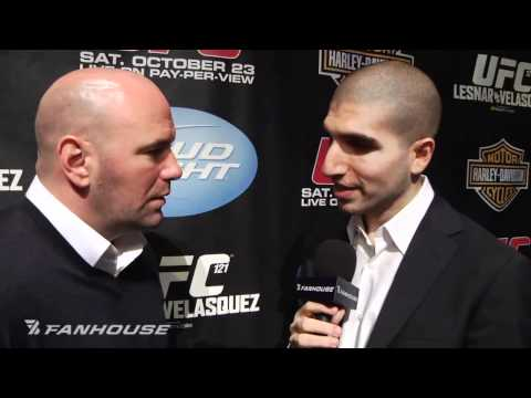 Dana White Previews UFC 121 Fires Back at Frank Shamrock Talks MMA in Olympics