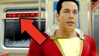 SHAZAM Trailer Breakdown! Easter Eggs & Details You Missed! (DCEU Easter Eggs + Black Adam Teases)