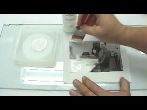 Golden Acrylic - Gel Image Transfers