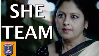 She Team - Cyberabad Police - For help Call 100 | Jayasudha Kapoor